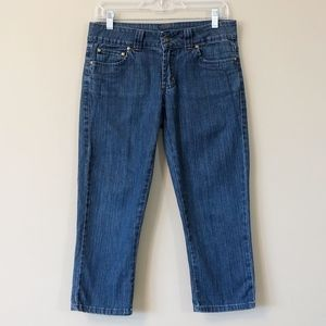 Prana | Cropped jeans with zipper pockets